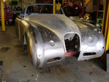 Jaguar restoration and servicing