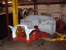 Jaguar restoration and rebuild services